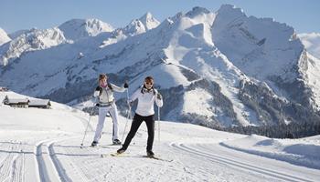 Ski de fond à La Clusaz