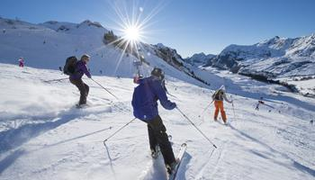 Ski de piste à La Clusaz