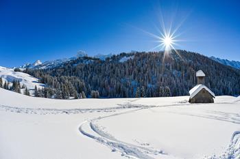 The Skiable Area In La Clusaz